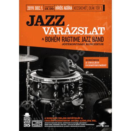 Jazzvarázslat – belépőjegy (2019. dec. 1.) jótékonysági koncert a Ceglédi Dobmúzeumért